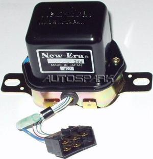 132628  CARGO, Voltage Regulator Denso type External 28V Toyota