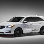 Sema What Were They Thinking Acura Reveals Custom Mdx Tow Rig For Nsx Gt3 Autospies Auto News