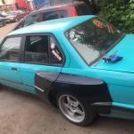 Bmw E30 4 Door Sedan Touring Pandem Full Wide Body Kit Auto Sport Plastic
