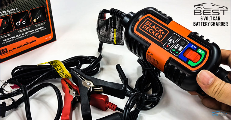 6-Volt Car Battery Charger