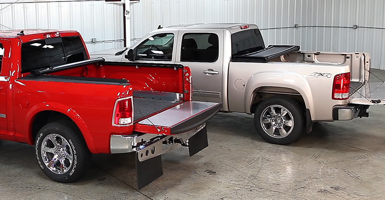 Which Is Better Tri-Fold or Roll-up Tonneau Cover 1