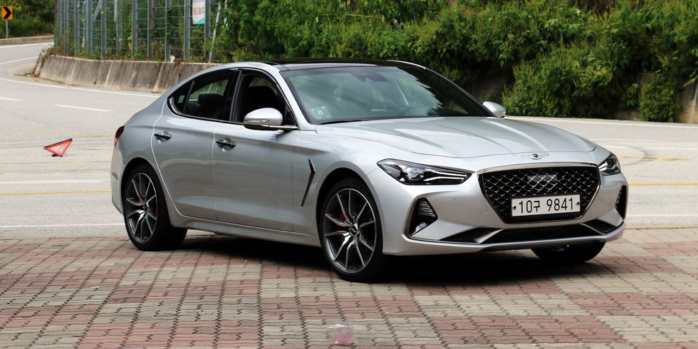 The 2019 Genesis G70 Is Getting A Six Speed Manual