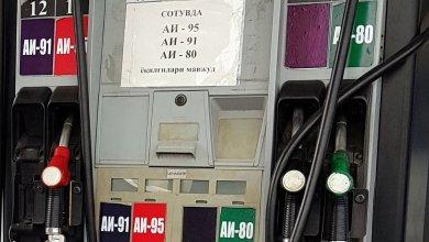 Цена бензина в Узбекистане