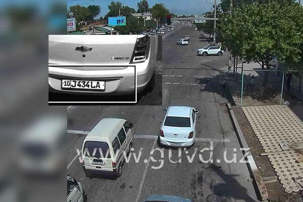 Штраф с камеры в Ташкенте