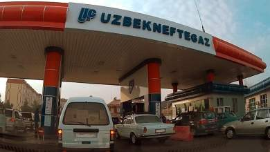 Узбекнефтегаз бензин в Ташкенте