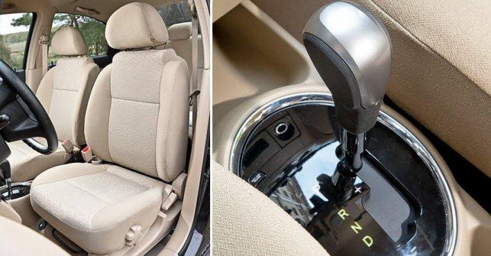 Chevrolet Nexia R3 - Кресло водителя и АКПП