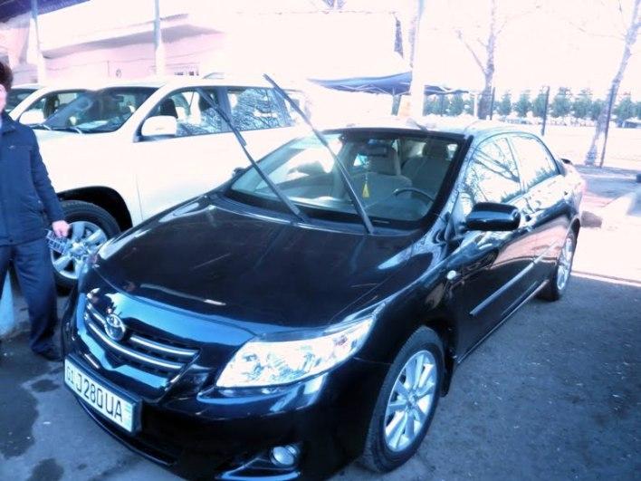 Toyota Corolla, год выпуска: 2008; Пробег: 112 000 км.<br /> Цена: 110 700 000 сумов.