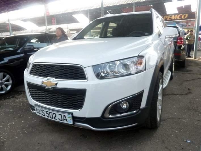Chevrolet Captiva (переделанная в Captiva 3), год выпуска: 2008; Пробег: 183 000 км.<br />Цена: 114 800 000 сумов.