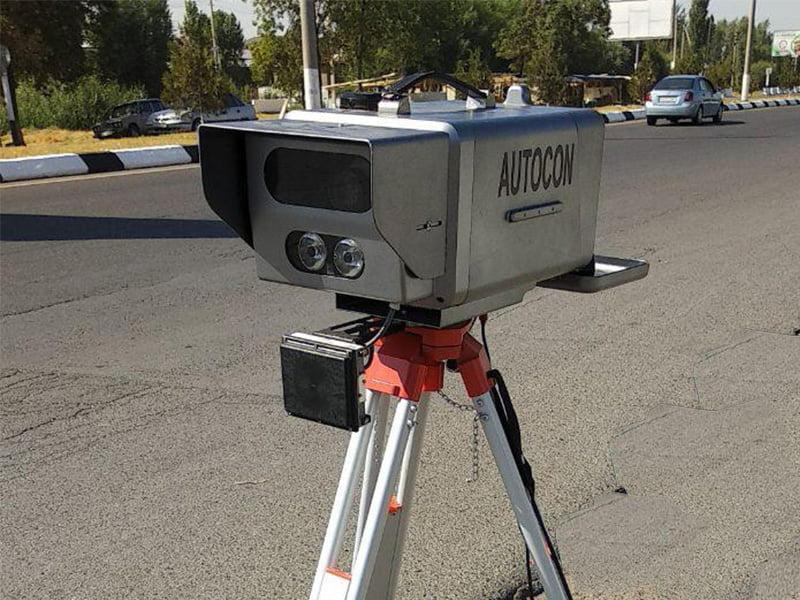Передвижной фото радар Autocon в Ташкенте
