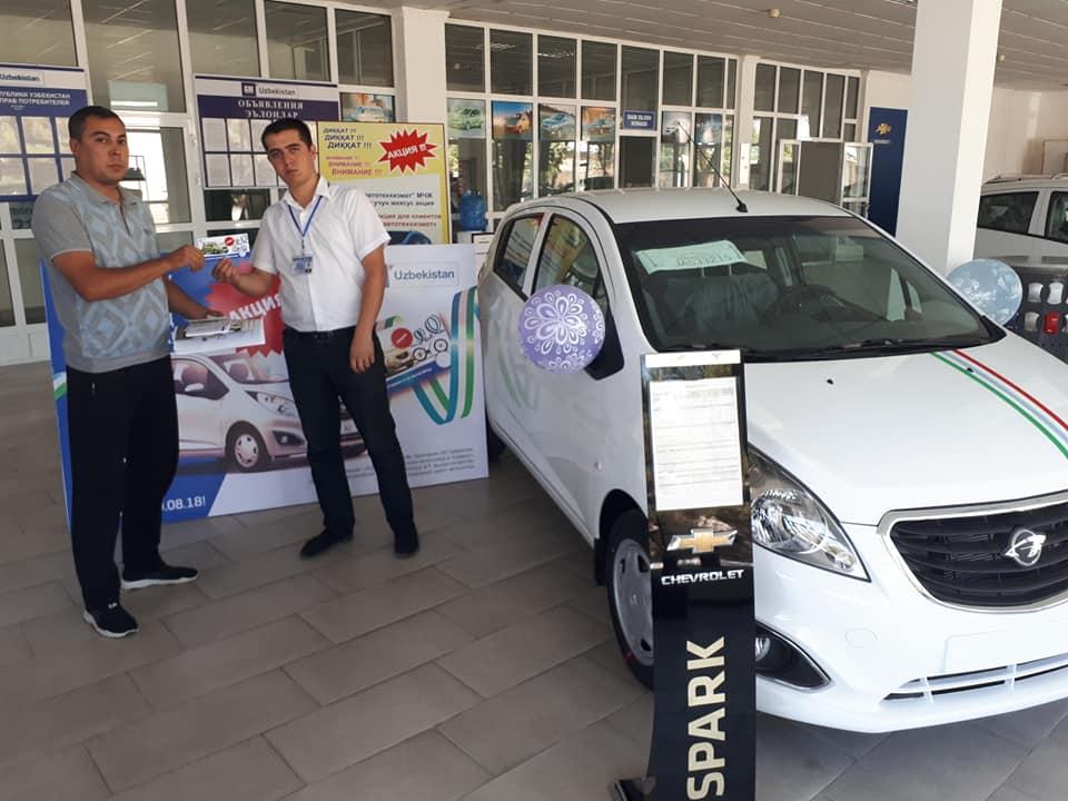 Navoiy shahrida GM Uzbekistan Avto salon manzili va telefon raqamlari