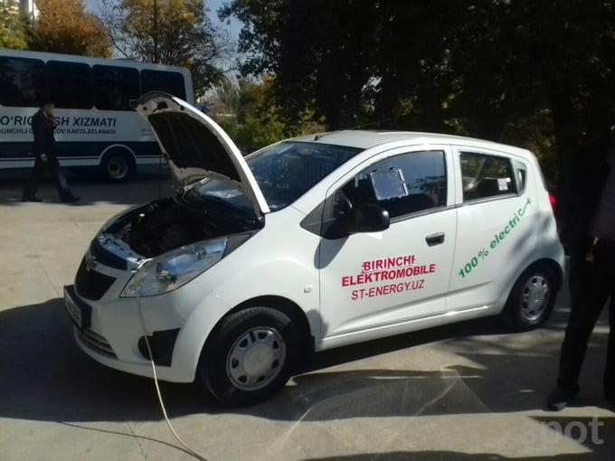 Электромобиль Chevrolet Spark в Узбекистане создан в Хорезме