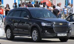 APC Chevrolet Captiva License Plate Uzbekistan