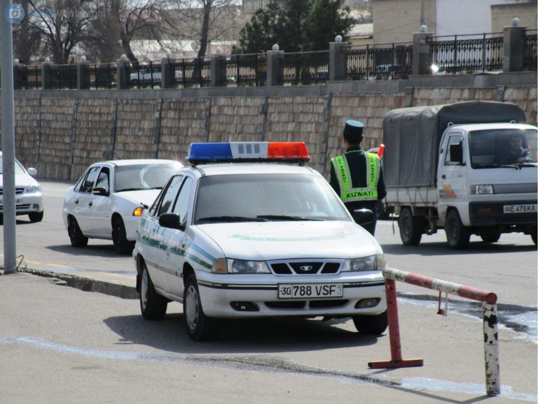 Инспектор ГАИ в Узбекистане