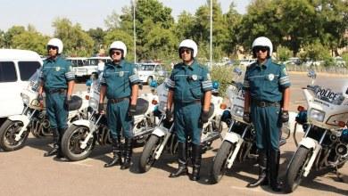 инспекторы ГАИ на мотоциклах в Узбекистане — Дорожная полиция ДПС в Ташкенте