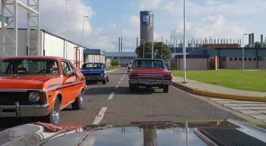 Visita a planta de General Motors Argentina