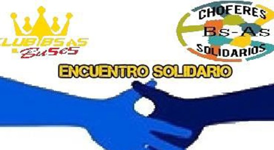 Encuentro solidario de Club Bs. As. Buses y Chóferes Solidarios Bs. As.