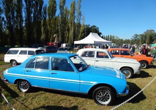 Festejos en Expo Auto Argentino por los 50 años del Peugeot 504