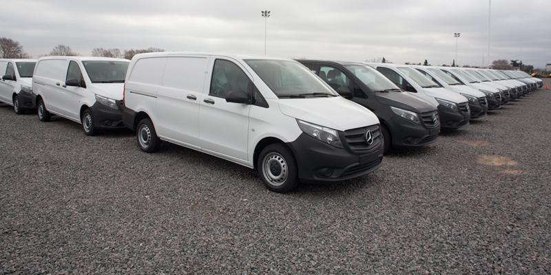 Defectos en las Mercedes-Benz Vito