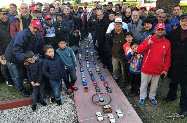 Homenaje a la Misión Argentina en formato Manocontrol