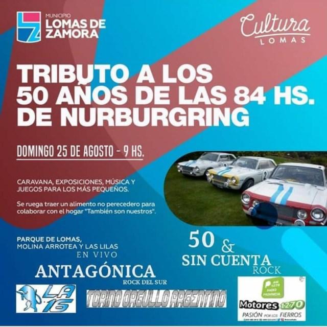 Tributo a los 50 años de las 84 Horas de Nürburgring