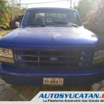 Camioneta Actualizada Pick Up Ford F150 Flareside Caja Californiana 1994 Autos Yucatan
