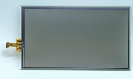 Toyota Touch Screen Digitizer with 8 pin ribbon cable —