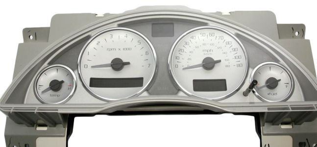 buick rendezvous instrument cluster problems