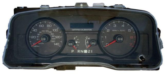 crown vic speedometer repair