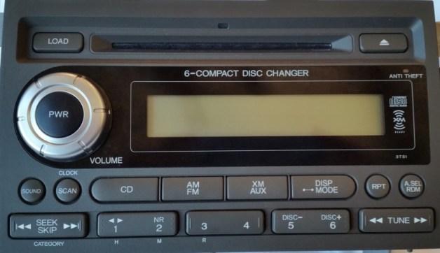 Honda Ridgeline Radio repair