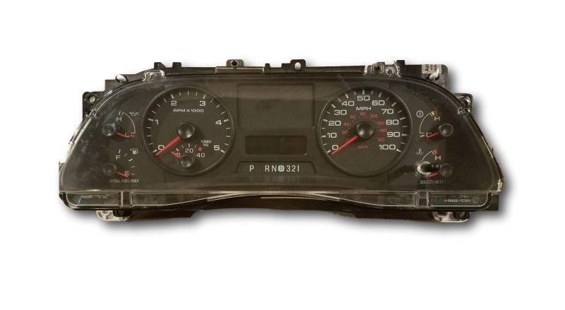 f350 instrument cluster not working