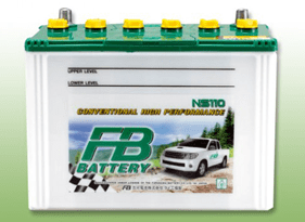 FB BATTERY NS100
