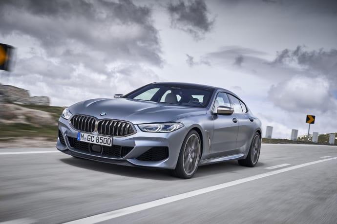 BMW:ltä urheilullinen ja tilava 8-sarjan Gran Coupé