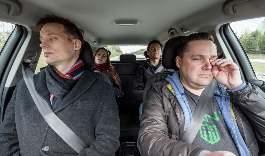 Joka seitsemäs pelännyt nukahtavansa rattiin viimeisen vuoden aikana