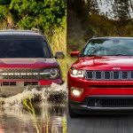 2021 Ford Bronco Sport Vs 2020 Jeep Compass Which Is Better Autotrader