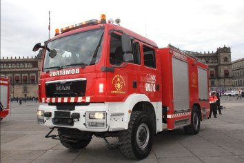 Camiones MAN TGM y TGS para apagar incendios