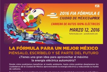 Ciudad de México ePrix convoca a estudiantes
