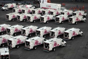 Estrena la Ciudad de México 119 camiones recolectores de basura