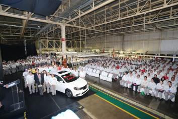 Nissan logra 5 millones de unidades producidas en Aguascalientes