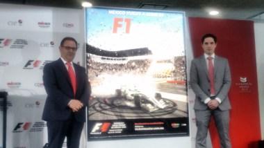 Fórmula 1 reveló la nueva imagen que representará el Gran Premio de México 2016