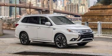 Mitsubishi presenta por primera vez en Estados Unidos la Outlander PHEV