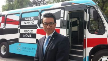 Mercedes-Benz Autobuses entrega unidades al Museo Tamayo