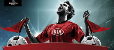 Kia te lleva a la Eurocopa