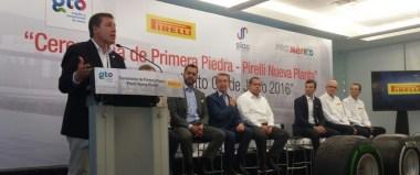 Pirelli construye una nueva planta en México