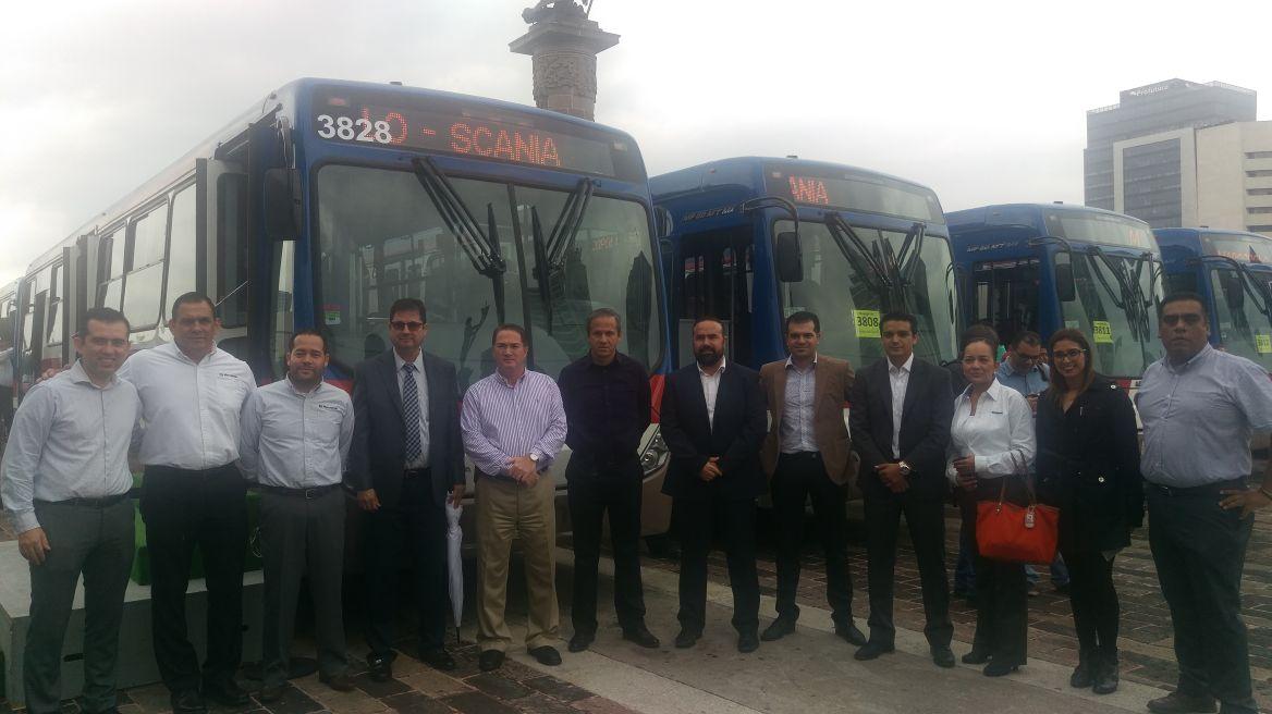 40 nuevas unidades Scania para sistema Metrorrey
