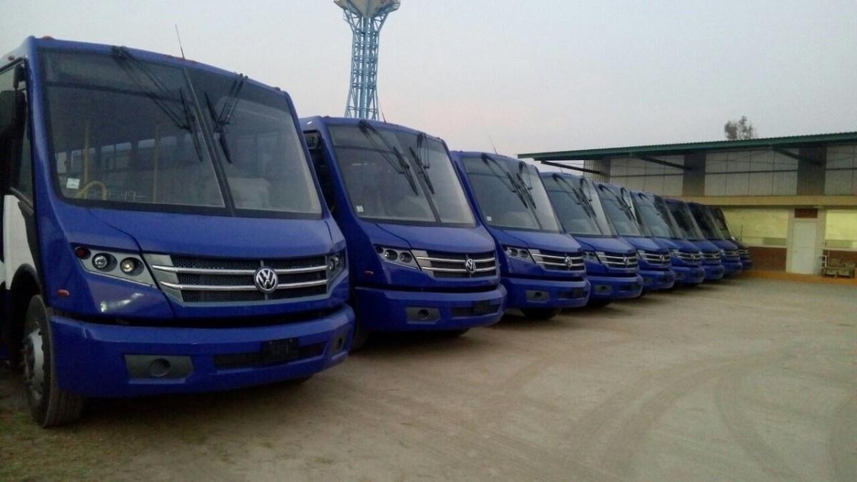 El Volksbus «Huracán» comenzará a circular por la CDMX