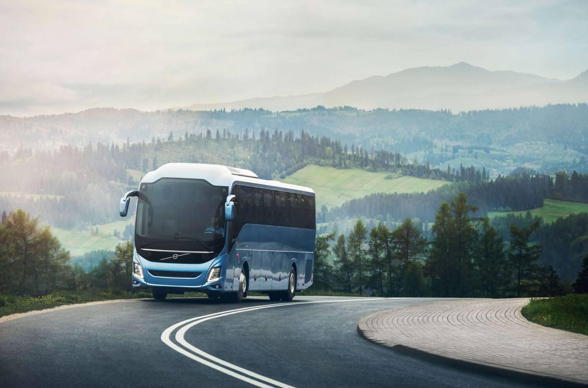 Gama Volvo 9000, galardonada como Autobús del Año en España