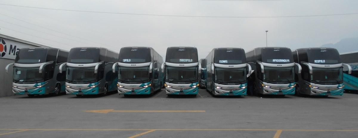 Llegan primeros buses MAN con carrocería G7 Plus para IAMSA