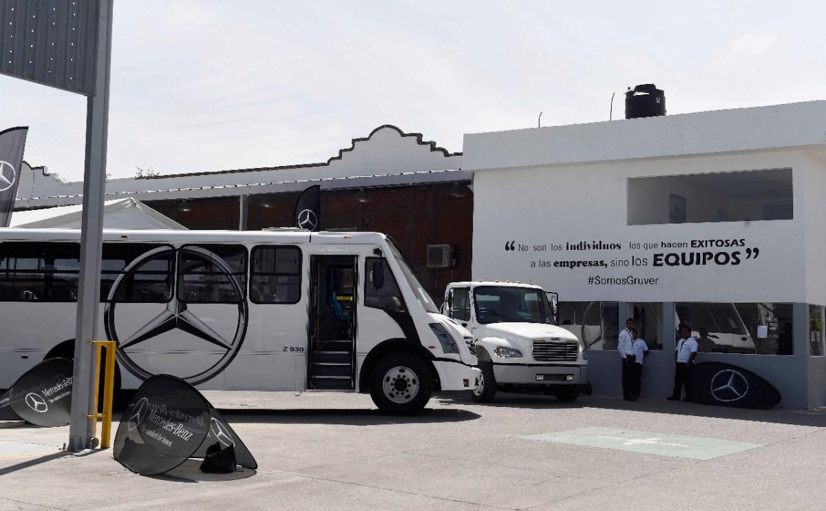 Daimler y Gruver Camiones llegan a Morelos