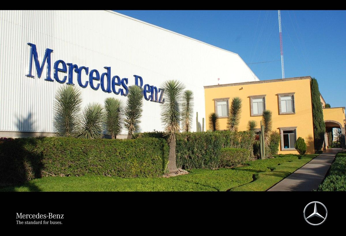 Refacciones Mercedes-Benz, ideales para el soporte de autobuses