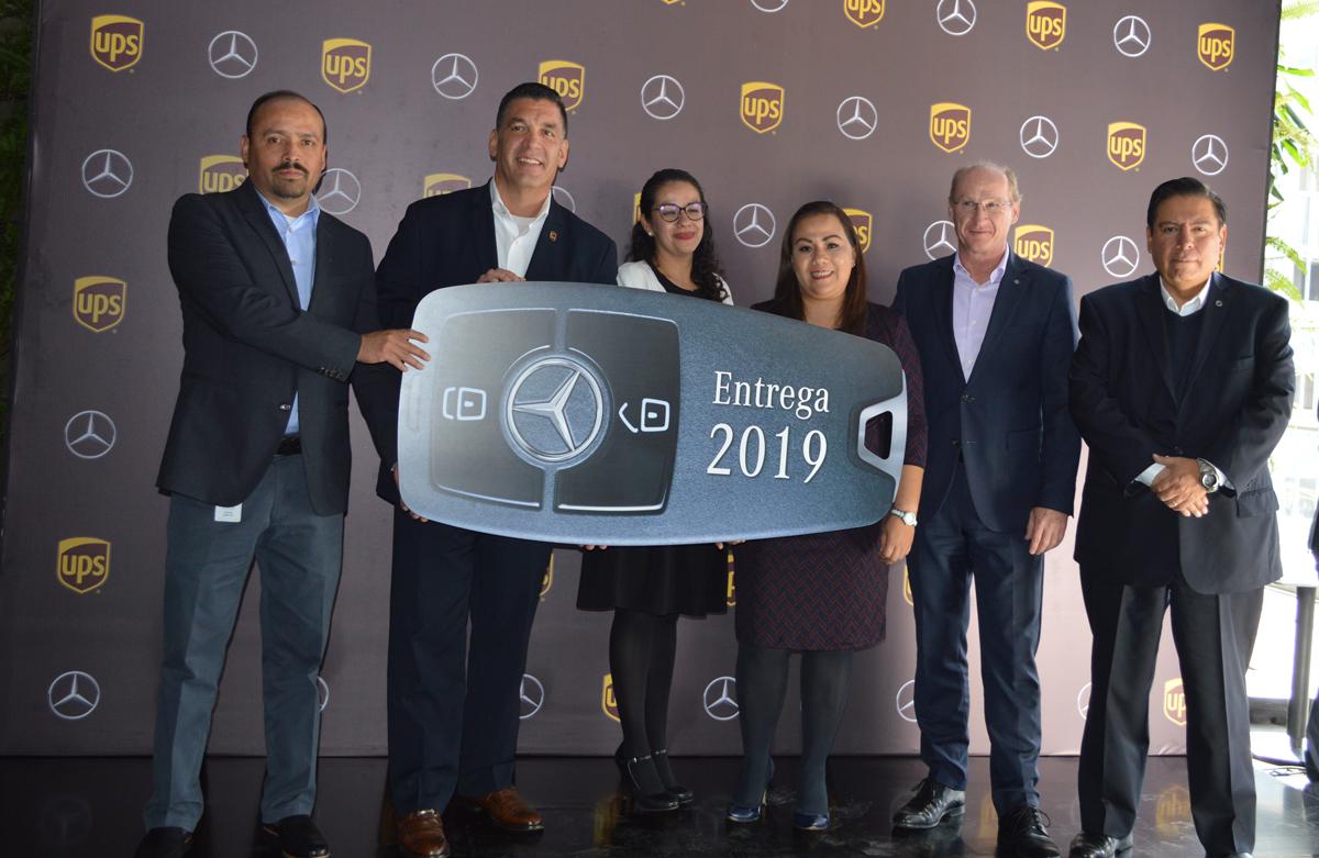 Daimler y UPS refrendan sociedad exitosa con nuevas unidades